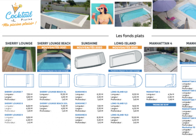 Catalogue Cocktail Piscine Vosges
